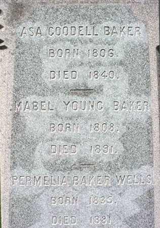 BAKER, PERMELIA - Washington County, New York | PERMELIA BAKER - New York Gravestone Photos