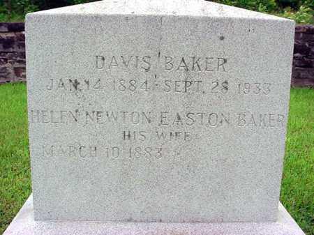 EASTON BAKER, HELEN NEWTON - Washington County, New York   HELEN NEWTON EASTON BAKER - New York Gravestone Photos