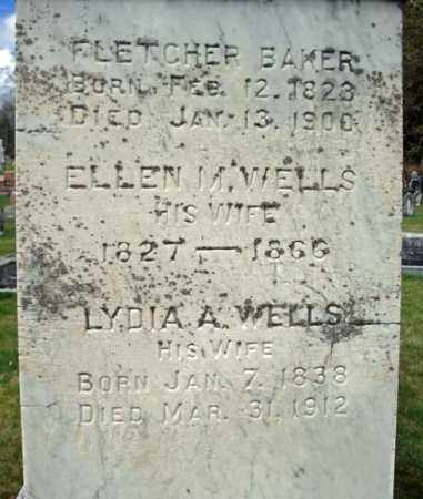 BAKER, LYDIA A - Washington County, New York | LYDIA A BAKER - New York Gravestone Photos