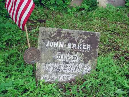 BAKER, JOHN - Washington County, New York | JOHN BAKER - New York Gravestone Photos