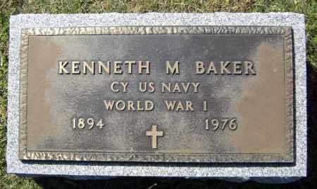 BAKER, KENNETH M - Washington County, New York | KENNETH M BAKER - New York Gravestone Photos