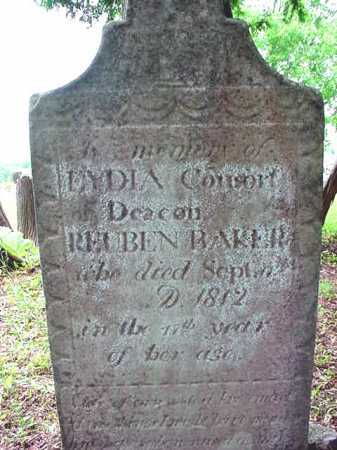 MASON BAKER, LYDIA - Washington County, New York | LYDIA MASON BAKER - New York Gravestone Photos