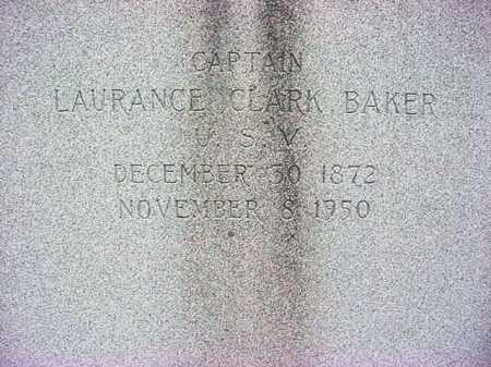 BAKER, LAURANCE CLARK - Washington County, New York   LAURANCE CLARK BAKER - New York Gravestone Photos