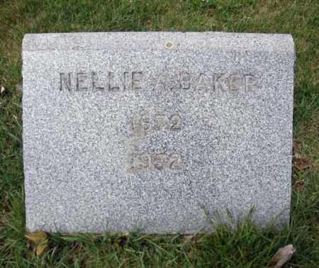 BAKER, NELLIE A - Washington County, New York   NELLIE A BAKER - New York Gravestone Photos