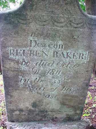 BAKER, REUBEN - Washington County, New York | REUBEN BAKER - New York Gravestone Photos