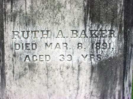 BAKER, RUTH A - Washington County, New York | RUTH A BAKER - New York Gravestone Photos
