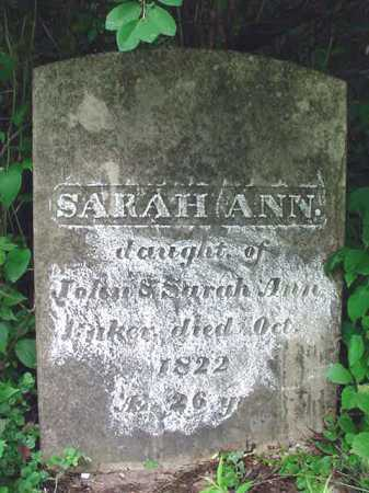 BAKER, SARAH ANN - Washington County, New York | SARAH ANN BAKER - New York Gravestone Photos