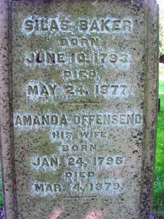 OFFENSEND BAKER, AMANDA - Washington County, New York | AMANDA OFFENSEND BAKER - New York Gravestone Photos