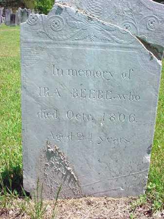 BEEBE, IRA - Washington County, New York   IRA BEEBE - New York Gravestone Photos