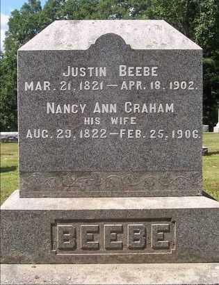 BEEBE, JUSTIN - Washington County, New York | JUSTIN BEEBE - New York Gravestone Photos