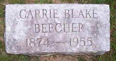 BLAKE BEECHER, CARRIE - Washington County, New York | CARRIE BLAKE BEECHER - New York Gravestone Photos