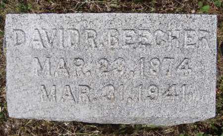 BEECHER, DAVID ROSS - Washington County, New York | DAVID ROSS BEECHER - New York Gravestone Photos
