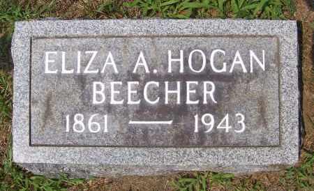 BEECHER, ELIZA ANN - Washington County, New York | ELIZA ANN BEECHER - New York Gravestone Photos