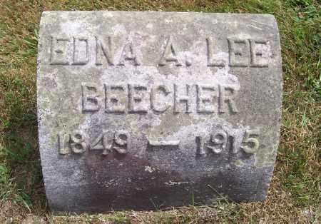 LEE BEECHER, EDNA A. - Washington County, New York | EDNA A. LEE BEECHER - New York Gravestone Photos