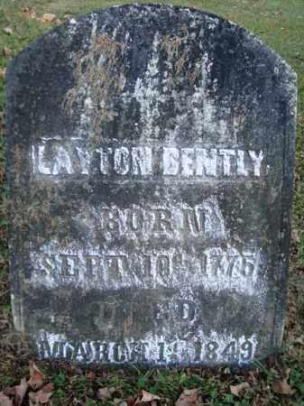 BENTLY, LAYTON - Washington County, New York   LAYTON BENTLY - New York Gravestone Photos