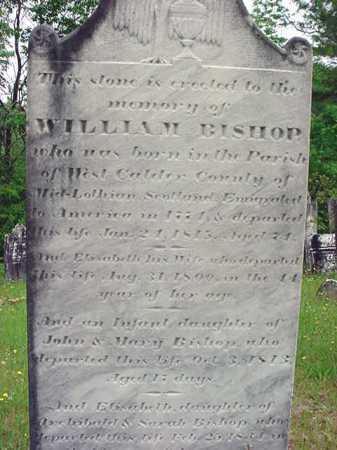 BISHOP, BABY DAU OF WILLIAM - Washington County, New York | BABY DAU OF WILLIAM BISHOP - New York Gravestone Photos