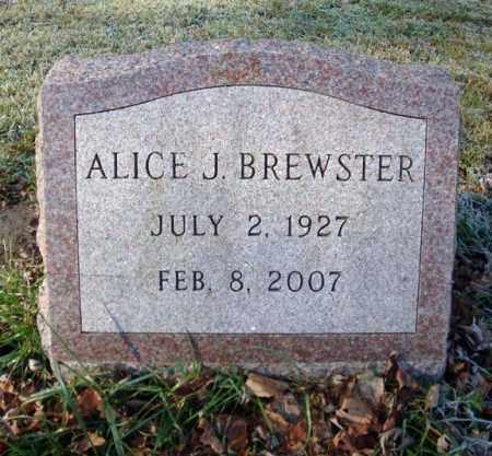 BREWSTER, ALICE J - Washington County, New York   ALICE J BREWSTER - New York Gravestone Photos