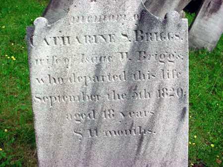 BRIGGS, CATHARINE S - Washington County, New York | CATHARINE S BRIGGS - New York Gravestone Photos
