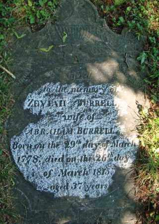 BURRELL, ZEVIAH - Washington County, New York | ZEVIAH BURRELL - New York Gravestone Photos