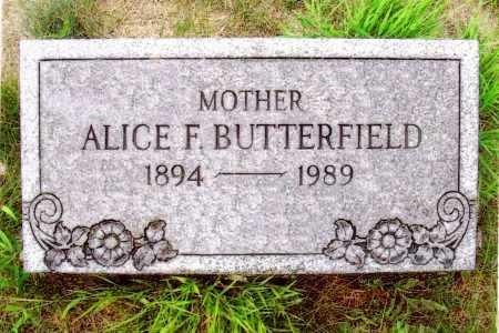 BUTTERFIELD, ALICE F. - Washington County, New York | ALICE F. BUTTERFIELD - New York Gravestone Photos