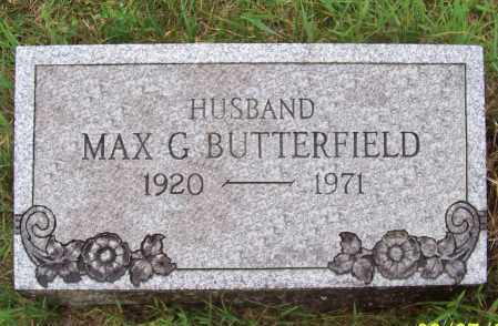 BUTTERFIELD, MAXWELL G. - Washington County, New York | MAXWELL G. BUTTERFIELD - New York Gravestone Photos