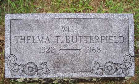 TRACKEY BUTTERFIELD, THELMA - Washington County, New York | THELMA TRACKEY BUTTERFIELD - New York Gravestone Photos