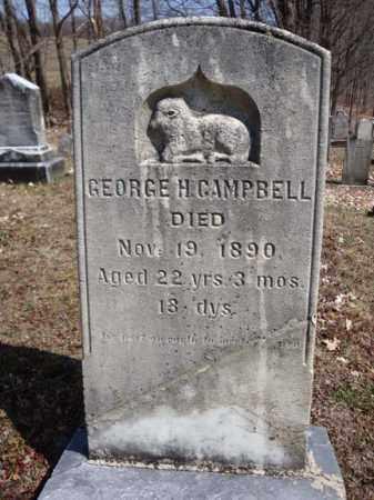 CAMPBELL, GEORGE H - Washington County, New York | GEORGE H CAMPBELL - New York Gravestone Photos