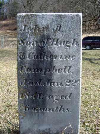 CAMPBELL, JOHN A - Washington County, New York | JOHN A CAMPBELL - New York Gravestone Photos
