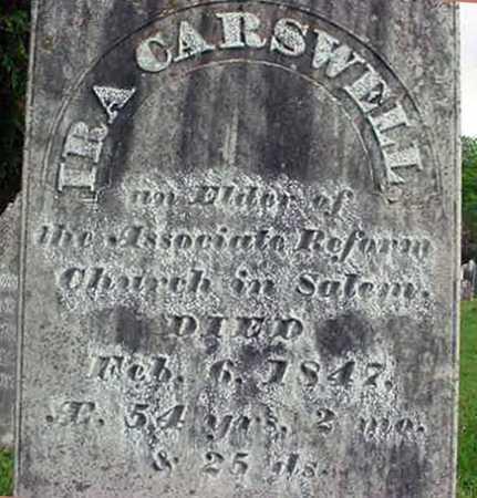 CARSWELL, IRA - Washington County, New York | IRA CARSWELL - New York Gravestone Photos