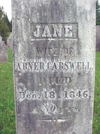 STEWART CARSWELL, JANE - Washington County, New York | JANE STEWART CARSWELL - New York Gravestone Photos