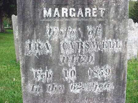 CARSWELL, MARGARET - Washington County, New York | MARGARET CARSWELL - New York Gravestone Photos