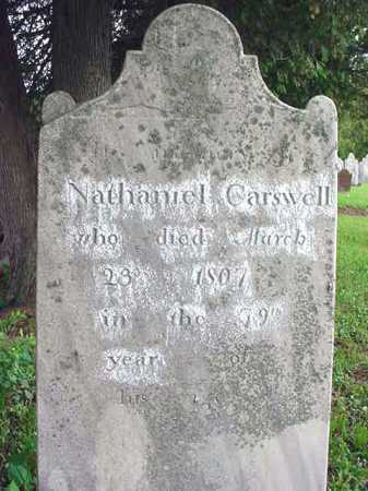 CARSWELL (RW), NATHANIEL - Washington County, New York | NATHANIEL CARSWELL (RW) - New York Gravestone Photos