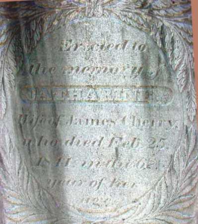 CHERRY, CATHARINE - Washington County, New York   CATHARINE CHERRY - New York Gravestone Photos