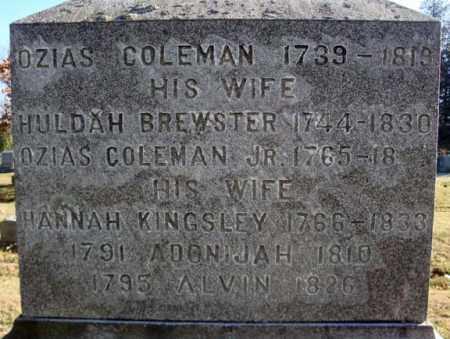BREWSTER, HULDAH - Washington County, New York | HULDAH BREWSTER - New York Gravestone Photos