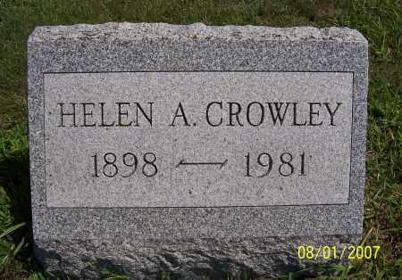 CROWLEY, HELEN A. - Washington County, New York   HELEN A. CROWLEY - New York Gravestone Photos
