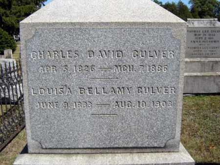 CULVER, CHARLES DAVID - Washington County, New York | CHARLES DAVID CULVER - New York Gravestone Photos