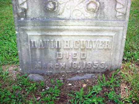 CULVER, DAVID H - Washington County, New York | DAVID H CULVER - New York Gravestone Photos