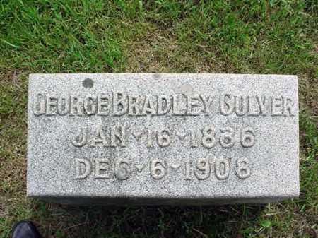 CULVER, GEORGE BRADLEY - Washington County, New York | GEORGE BRADLEY CULVER - New York Gravestone Photos