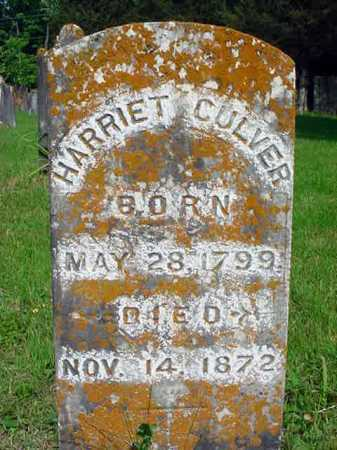 CULVER, HARRIET - Washington County, New York | HARRIET CULVER - New York Gravestone Photos