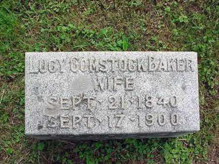 BAKER CULVER, LUCY COMSTOCK - Washington County, New York | LUCY COMSTOCK BAKER CULVER - New York Gravestone Photos