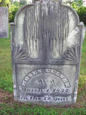 CULVER, MOSES - Washington County, New York | MOSES CULVER - New York Gravestone Photos