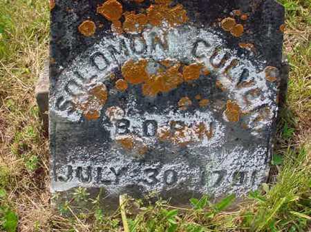 CULVER, SOLOMON - Washington County, New York | SOLOMON CULVER - New York Gravestone Photos