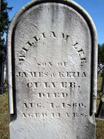 CULVER, WILLIAM LEE - Washington County, New York | WILLIAM LEE CULVER - New York Gravestone Photos