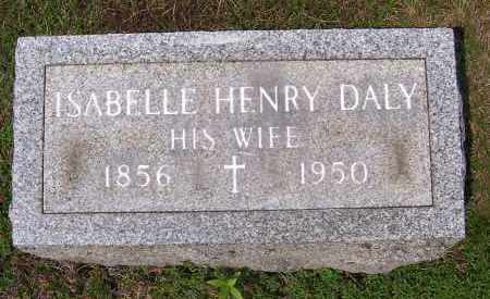 HENRY, ISABELLE - Washington County, New York | ISABELLE HENRY - New York Gravestone Photos