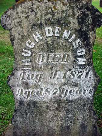 DENISON, HUGH - Washington County, New York | HUGH DENISON - New York Gravestone Photos