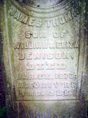 DENISON, JAMES THOMAS - Washington County, New York | JAMES THOMAS DENISON - New York Gravestone Photos