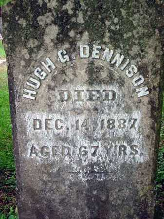 DENNISON, HUGH G - Washington County, New York   HUGH G DENNISON - New York Gravestone Photos