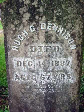 DENNISON, HUGH G - Washington County, New York | HUGH G DENNISON - New York Gravestone Photos