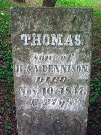 DENNISON, THOMAS - Washington County, New York   THOMAS DENNISON - New York Gravestone Photos