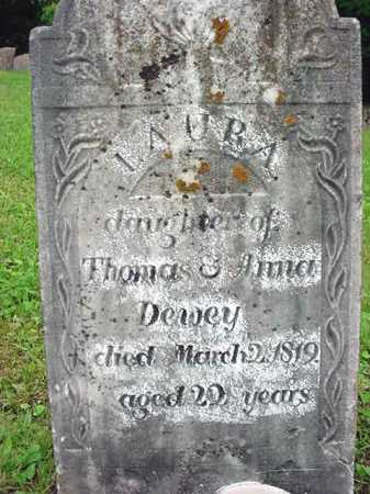 DEWEY, LAURA - Washington County, New York | LAURA DEWEY - New York Gravestone Photos